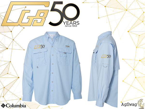 "AgSwag Helping CGB ""Celebrate 50 Years"""