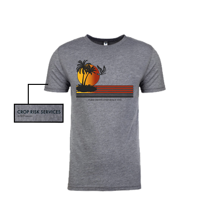"""AgSwag Helping Crop Risk Services """"Design Shirts for Farm Credit Conference 2019"""""""