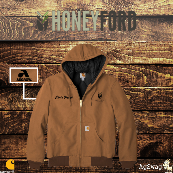"AgSwag Helping Honeyford ""Create Some of the Coolest Carhartts on the Market!"""