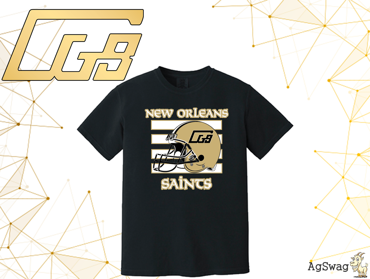 "AgSwag Helping CGB ""Come Up with a New Orleans Saints Theme"""