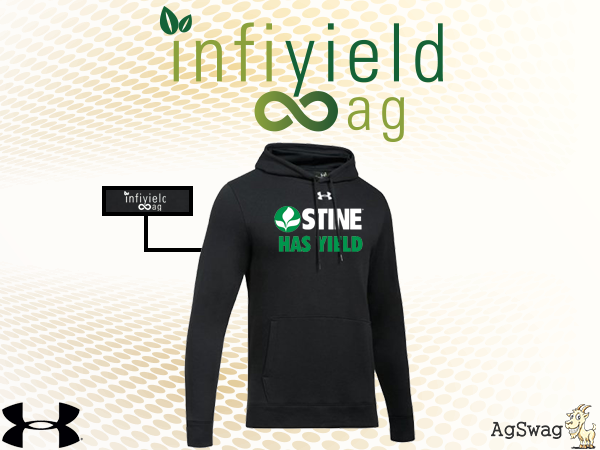 "AgSwag Helping Infiyield Ag ""Get Their Employees Fired Up About Coming to Work Each Day with this Baller Swag"""