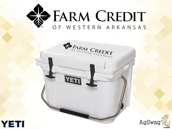 "AgSwag Helping Farm Credit Western Arkansas ""Have the Best Gifts in the State!"""