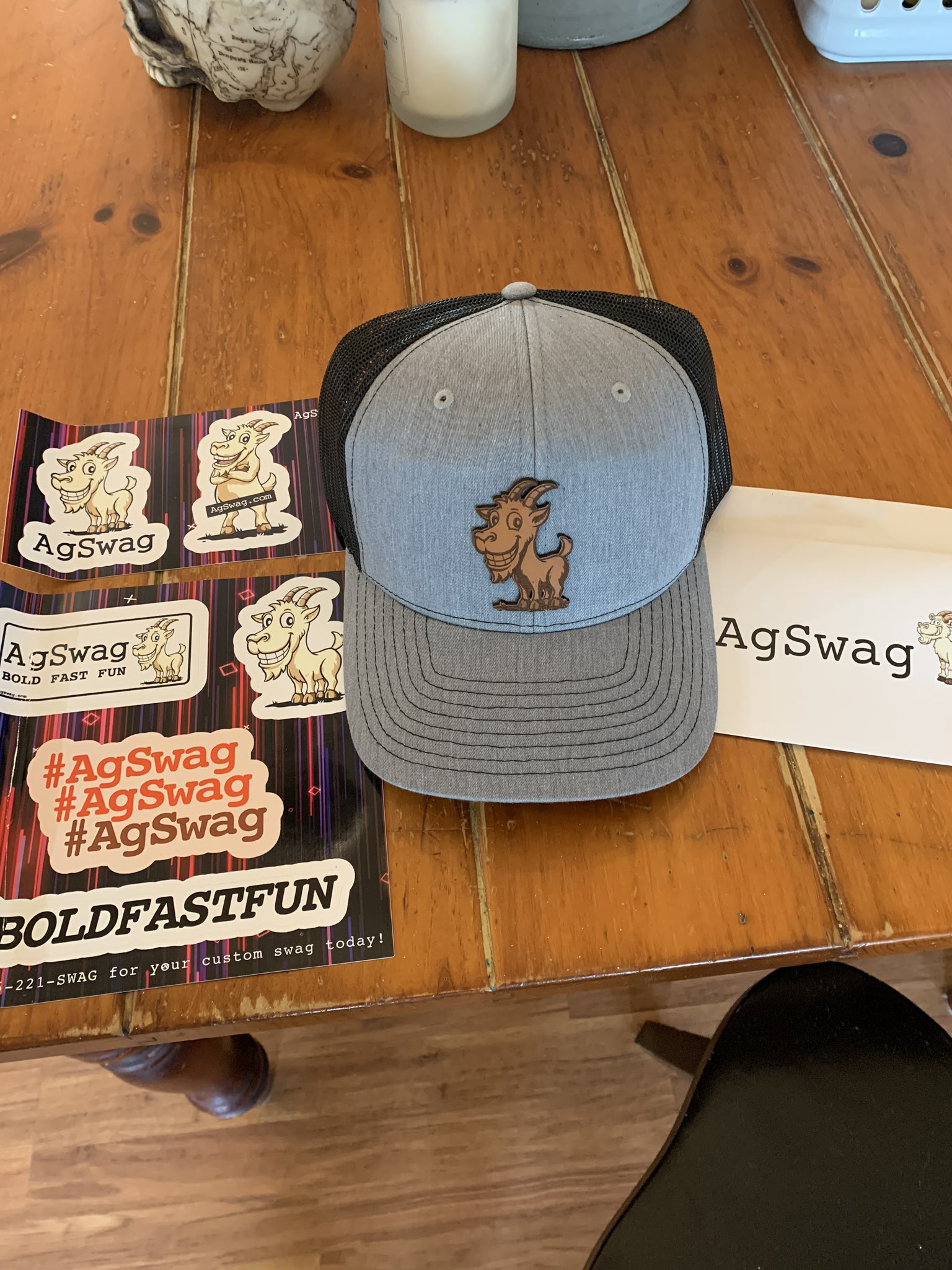 More Love For Our Hats and Stickers