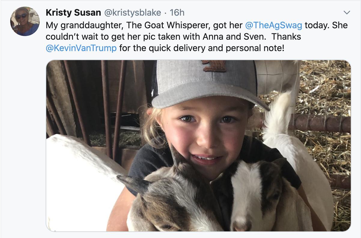 The Goat Whisperer!