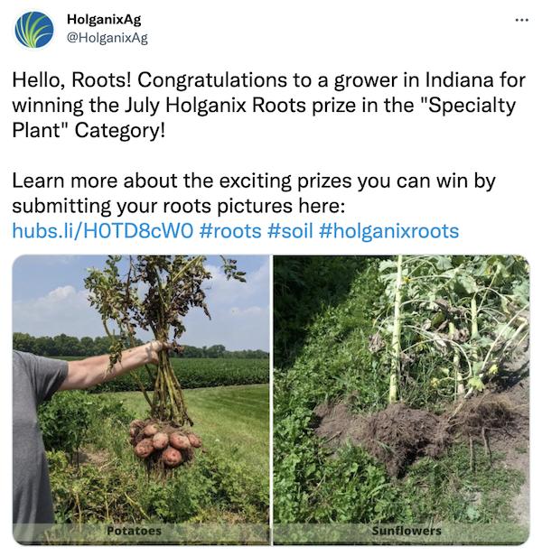 Holganix Deeper Roots Competition!
